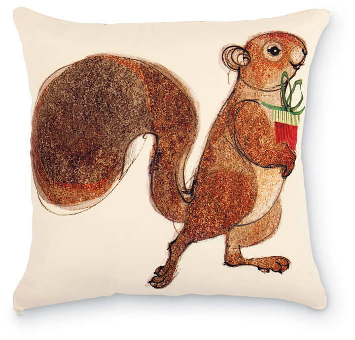 1951: Squirrel with Gift Pillow (Product Detail)