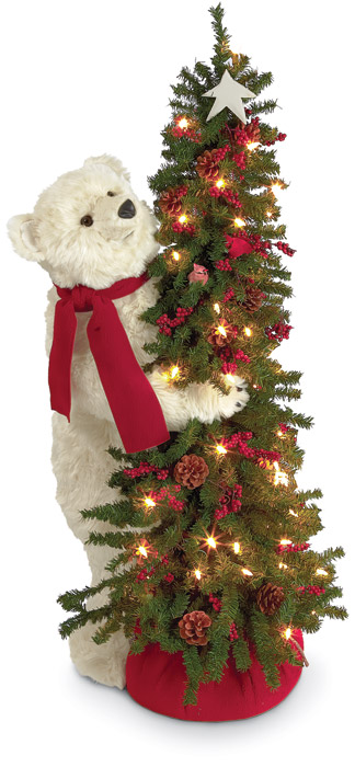 2040: Polar Bear with Christmas Tree (Product Detail)