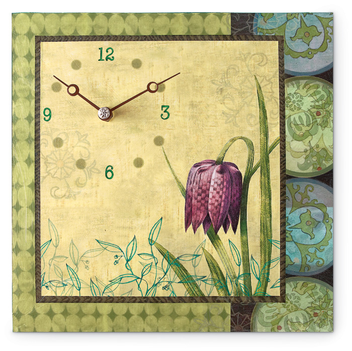 4590: Ugone - Lily Clock (Product Detail)