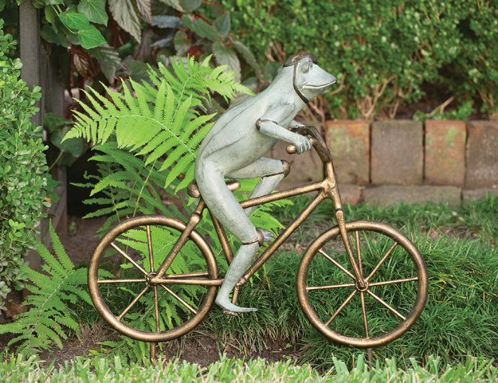 3871: Frog on Bike (Product Detail)