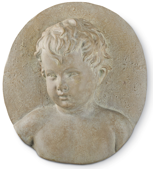 3841: Young Boy Plaque (Product Detail)