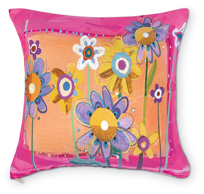 5211: Dune Floral Pillow (Product Detail)