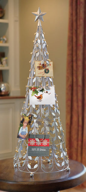 5265: Christmas Tree Card and Photo Holder (Product Detail)