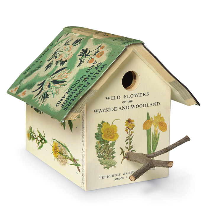 5272: Book Birdhouse: Wild Flowers (Product Detail)