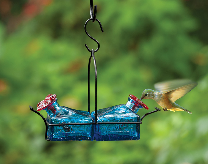 5436: Azure Hummingbird Feeder (Product Detail)