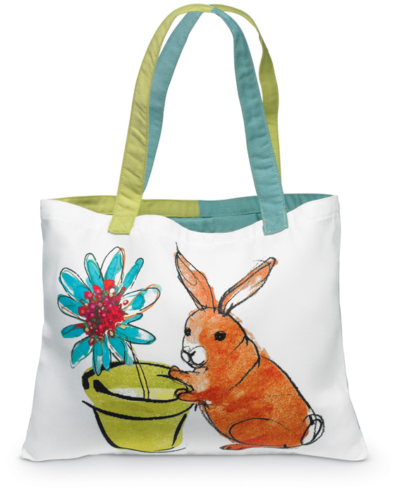 5400: Tote - Bunny (Product Detail)