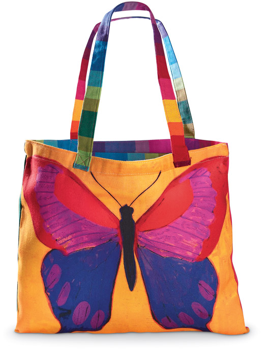 5529: Brilliant Butterfly Tote (Product Detail)