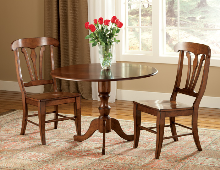 5903: Classic Drop Leaf Dining Table and Two Chairs (Product Detail)
