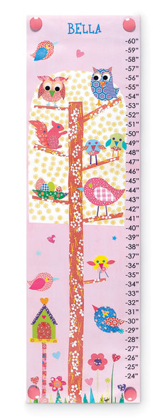 5920: Growth Chart - Little Owls (Product Detail)
