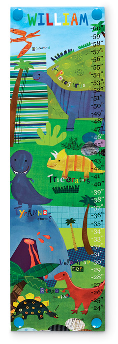 5919: Growth Chart - Dinosaurs (Product Detail)