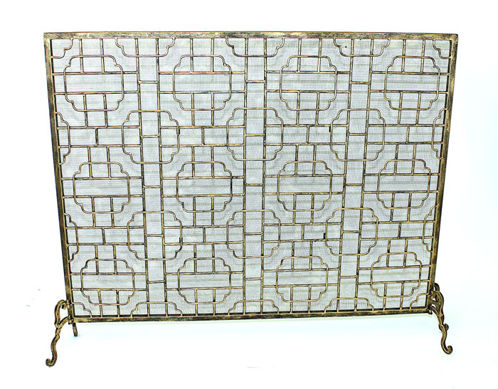 6183: Geometric Fire Screen (Product Detail)
