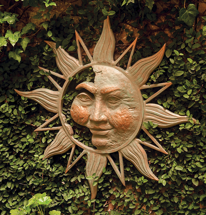 6355: Sun Wall Plaque (Product Detail)