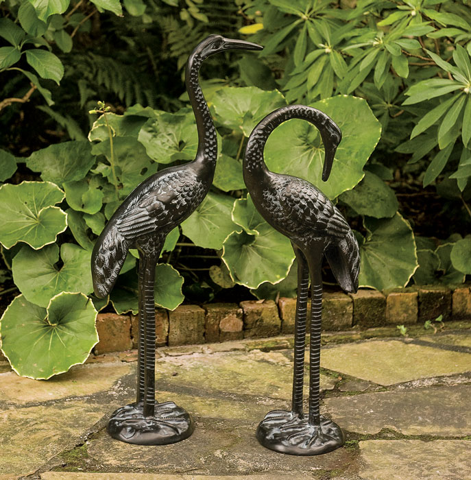 6374: Ebony Herons (Set of Two) (Product Detail)