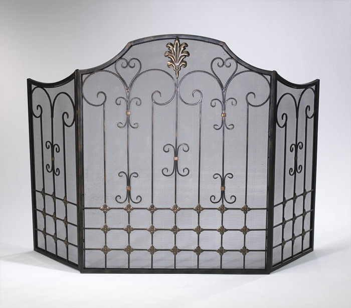 6436: Filigree Fire Screen (Product Detail)