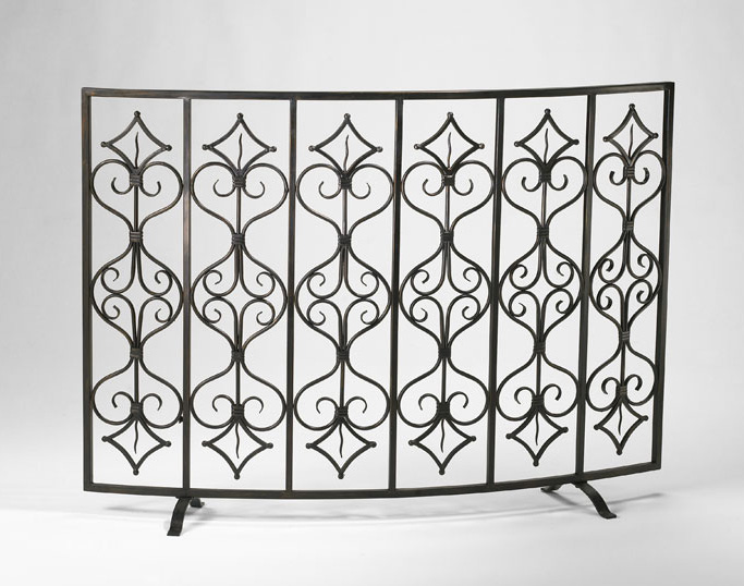 6439: Seville Fire Screen (Product Detail)