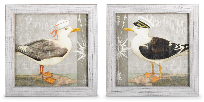 6431: Midshipmen Seagulls (Set of Two) (Product Detail)