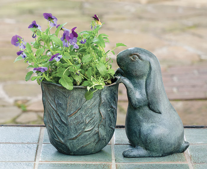 6469: Bunny and Planter (Product Detail)