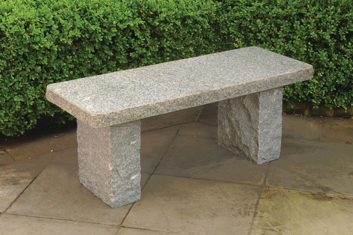 "7739: Granite Garden Bench - Gray 40"" (Product Detail)"