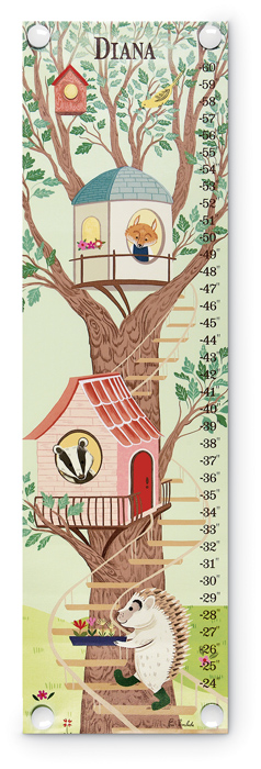 6564: Growth Chart - Treehouse (Product Detail)