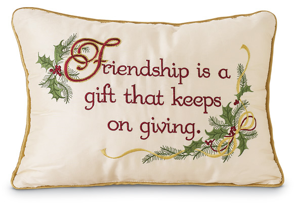 6632: Friendship Pillow  (Product Detail)