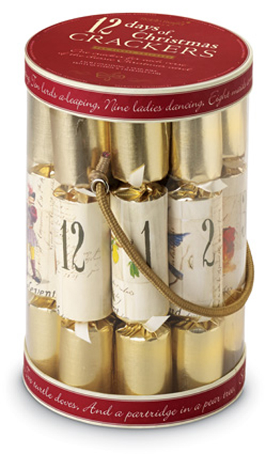 6543: Twelve Days of Christmas Crackers (Set of 12)  (Product Detail)
