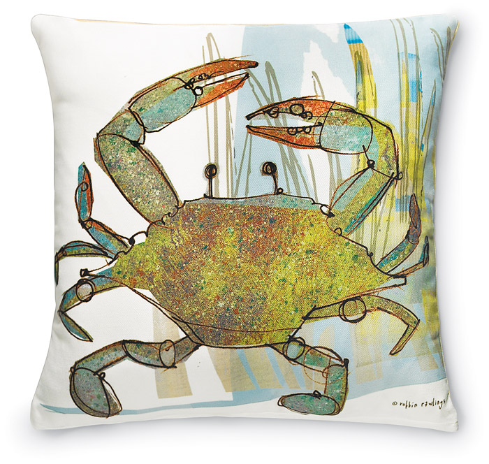 6710: Sea Crab Pillow (Product Detail)