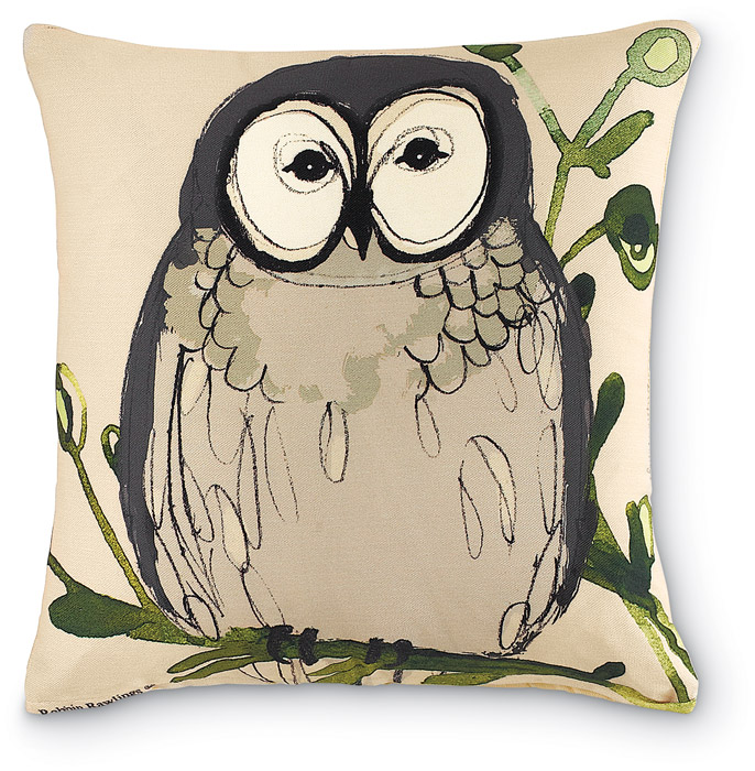 6711: Wise Owl Pillow (Product Detail)