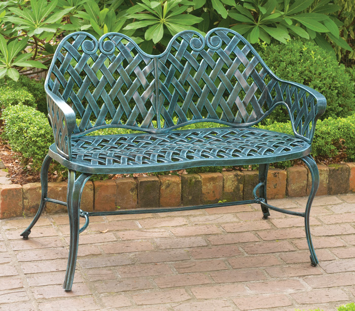 6792: French Weave Settee (Product Detail)