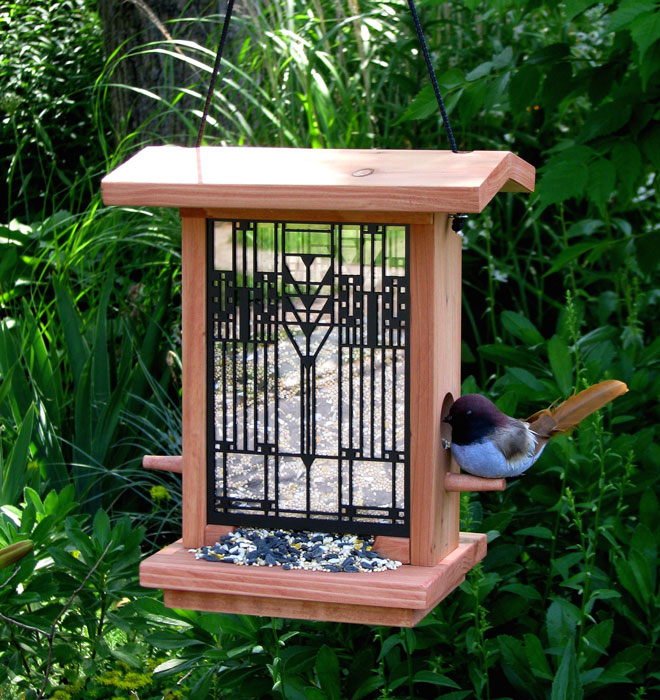 6856: Wright-Inspired Bird Feeder (Product Detail)