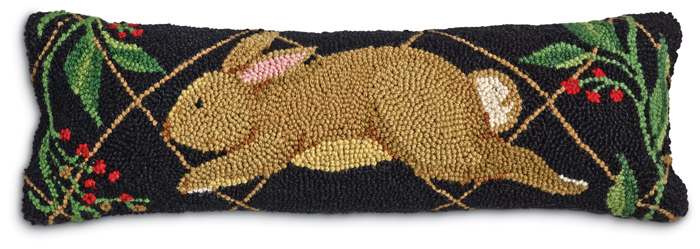 6870: Rabbit Run Lumbar Pillow (Product Detail)