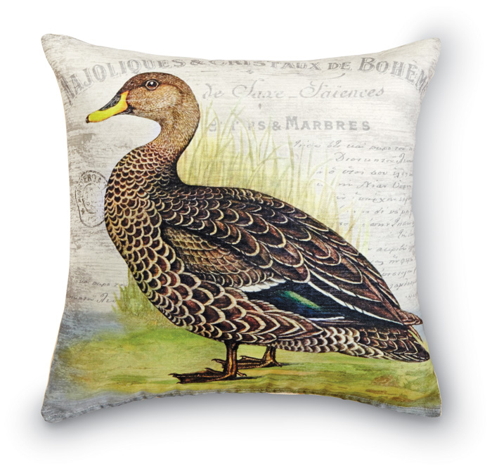 7113: Duck II Pillow (Product Detail)