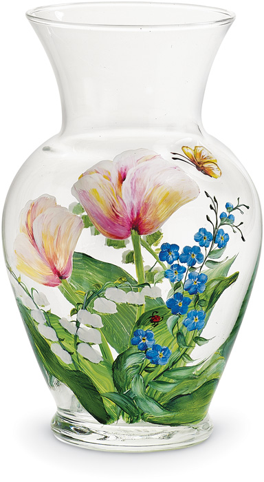 7106: Vase with Tulips (Product Detail)