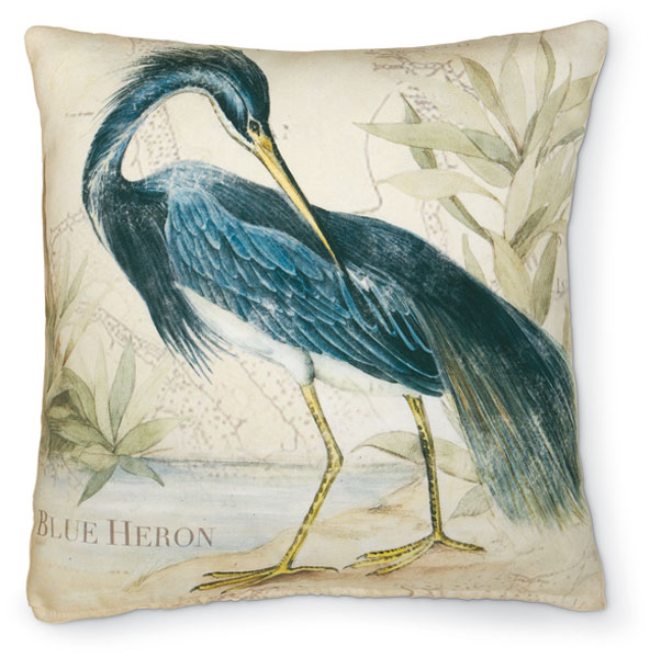 7115: Heron II Pillow (Product Detail)