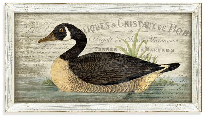 7166: French Goose Wall Art (Product Detail)