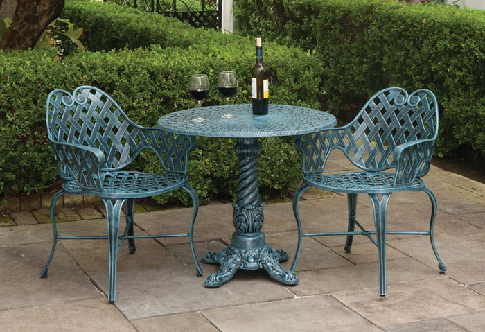6794: French Weave Bistro Set  (Product Detail)
