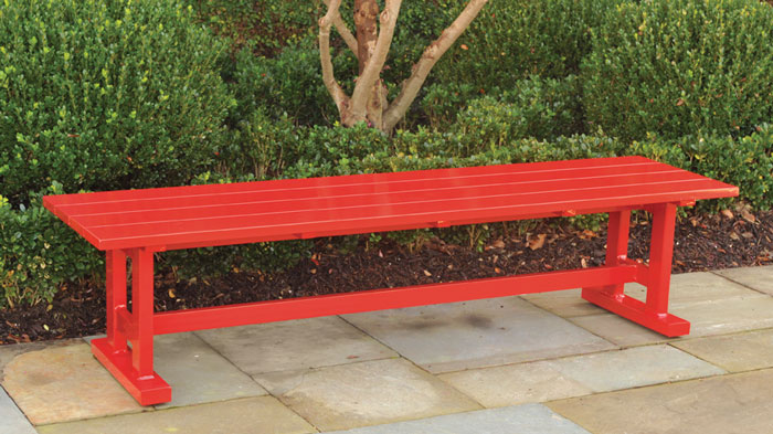 6959: Trestle Bench (Product Detail)