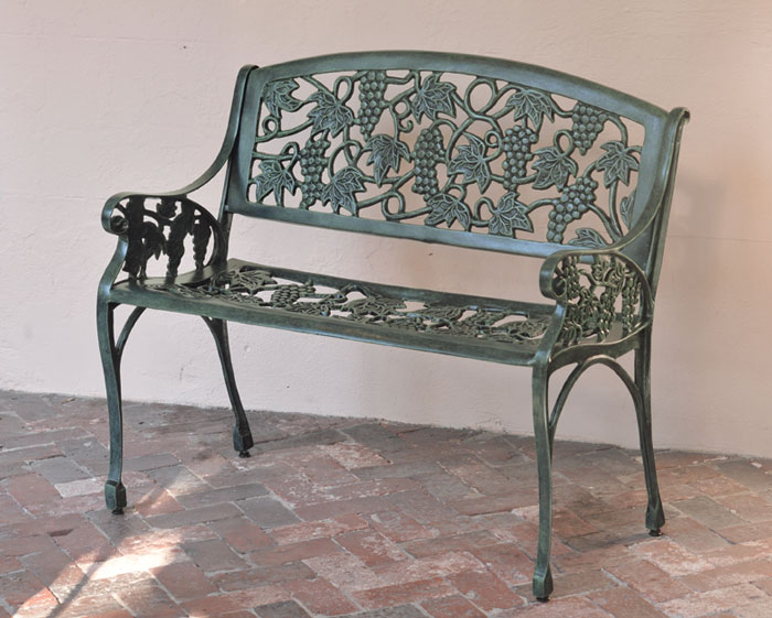 6791: Bordeaux Bench (Product Detail)