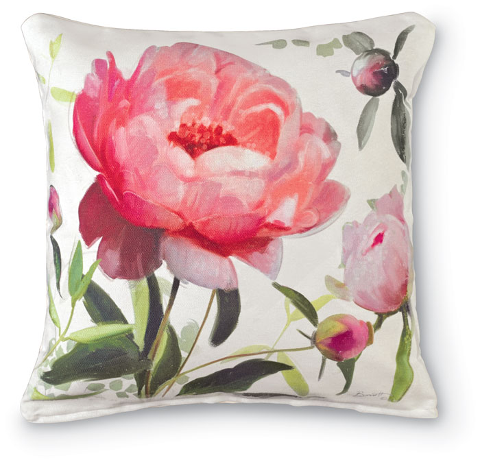 7182: Peony Pillow I (Product Detail)