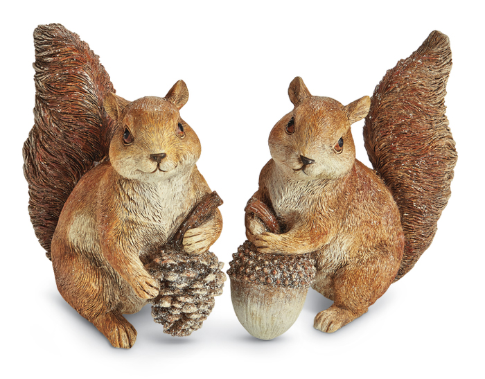 7207: Gathering Squirrels (Set of 2) (Product Detail)