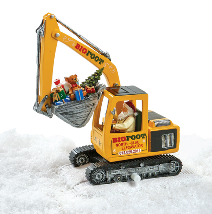 7279: North Pole Animated and Musical Excavator (Product Detail)