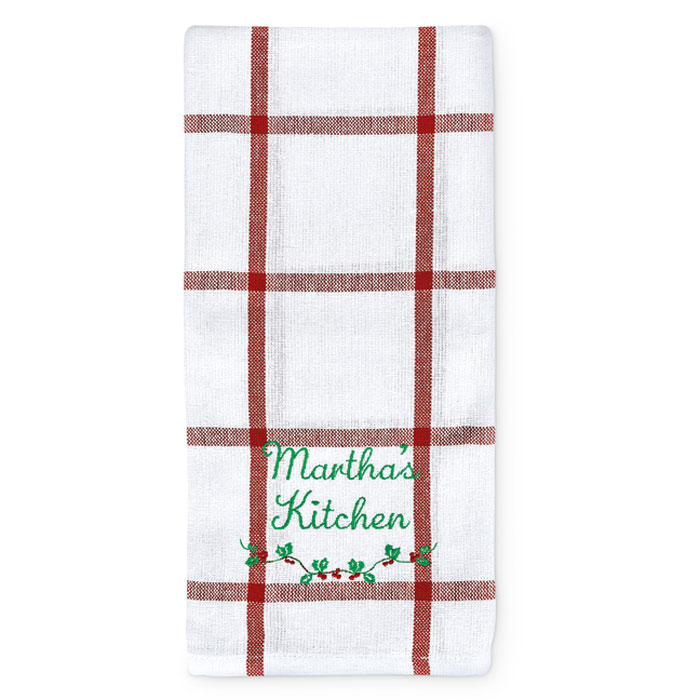 7487: Holiday Towel - Personalized (Product Detail)