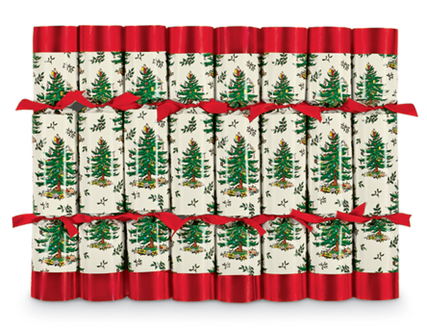 7269: Christmas Tree Crackers (Set of Eight) (Product Detail)