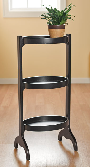 7163: Oval Three-Tier Stand (Product Detail)