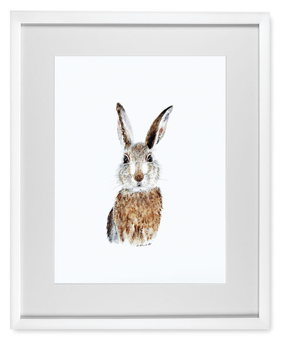 7245: Animal Portrait / Rabbit (Product Detail)