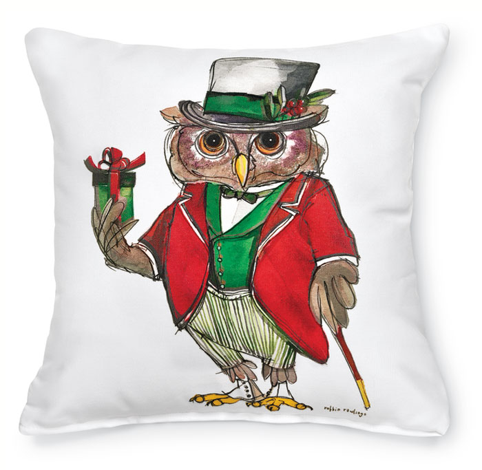 7540: Mr. Owl Pillow (Product Detail)