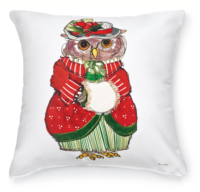 7541: Mrs. Owl Pillow (Product Detail)