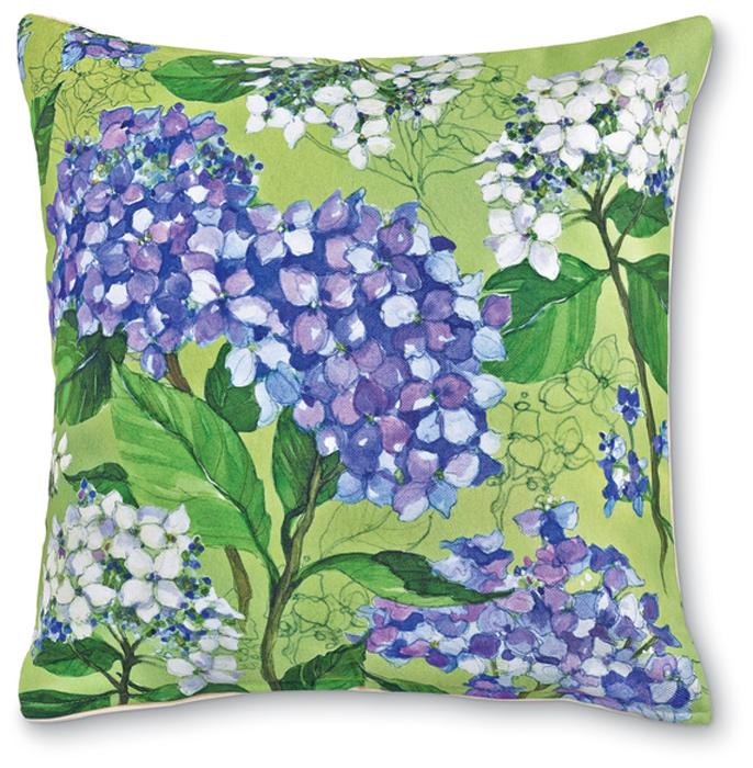 7572: Hydrangea Pillow I (Product Detail)