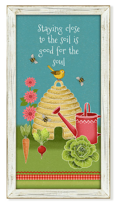 """7571: """"Close to the Soil"""" Wall Art (Product Detail)"""