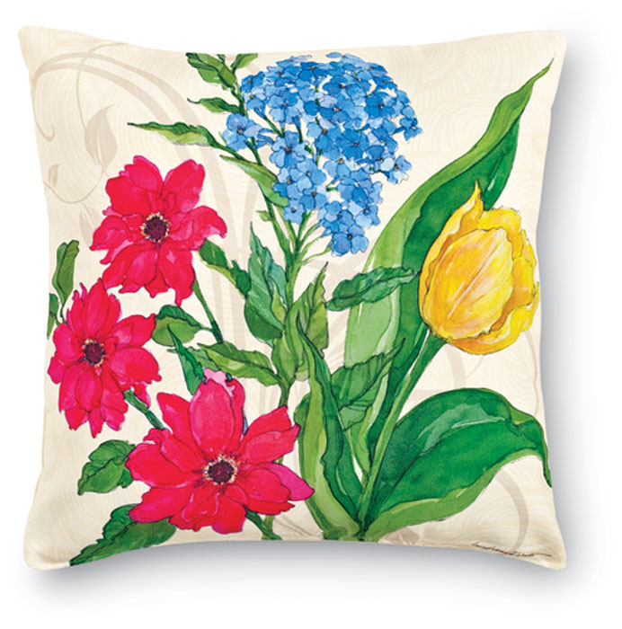 7682: Spring Botanical I Pillow (Product Detail)