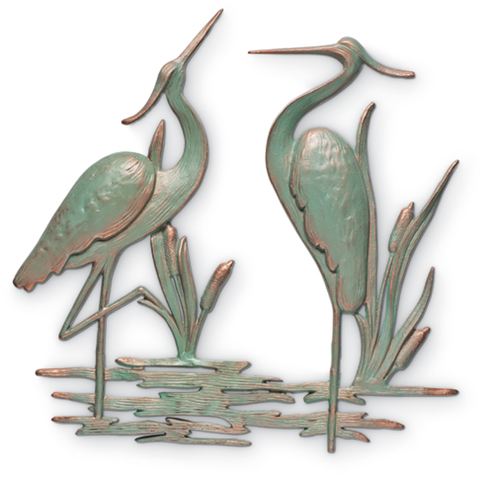 7648: Herons Wall Decor (Product Detail)
